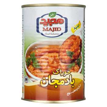 خوراک بادمجان مجید - 400 گرم
