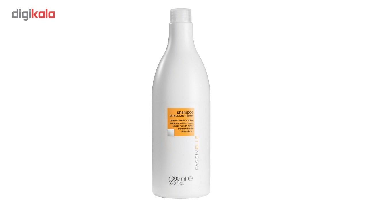 خرید                      شامپو تقویت کننده مو فشینلی مدل Intensive Nutrition حجم 1000 میلی لیتر
