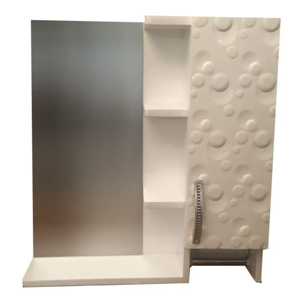 ست آینه و باکس سرویس بهداشتی pvc ضد آب NKRD2
