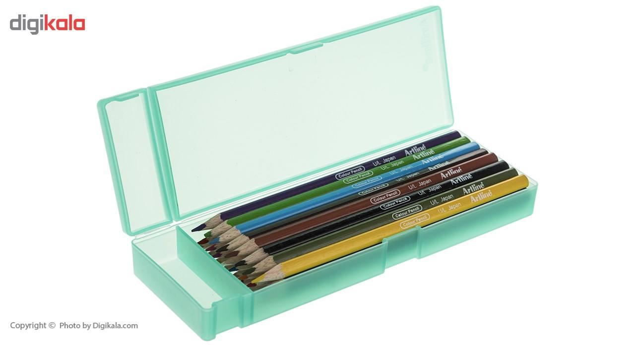 مداد رنگی 12 رنگ آرت لاین مدل ECP12PLS/IL main 1 10