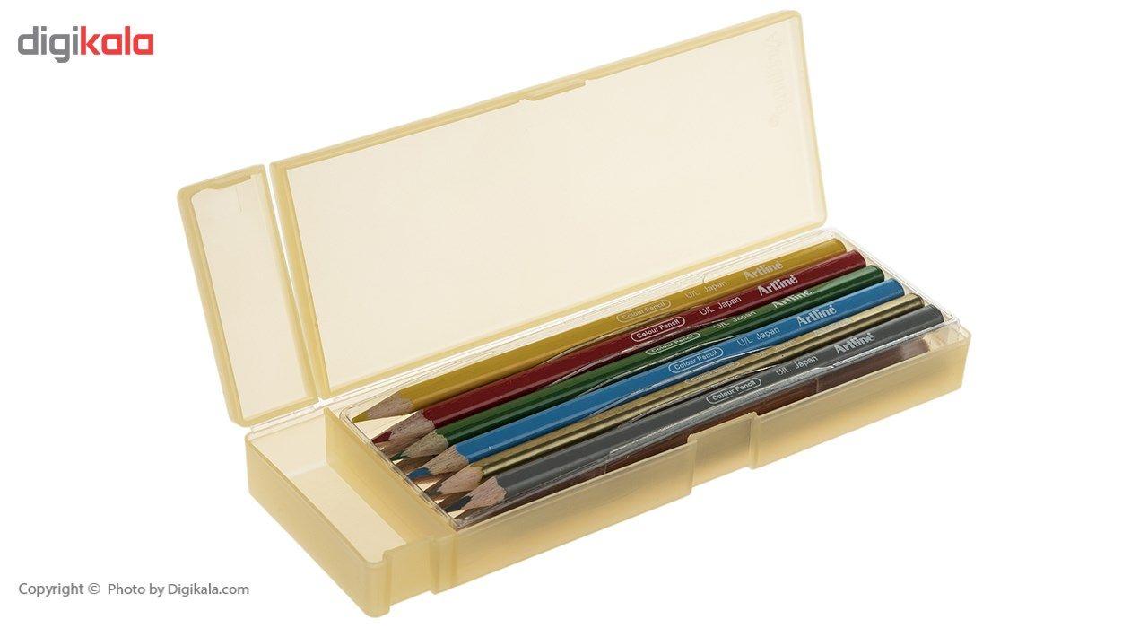 مداد رنگی 12 رنگ آرت لاین مدل ECP12PLS/IL main 1 11