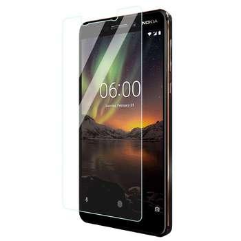 محافظ صفحه نمایش شیشه ای مدل تمپرد مناسب برای گوشی موبایل Nokia 6 2018