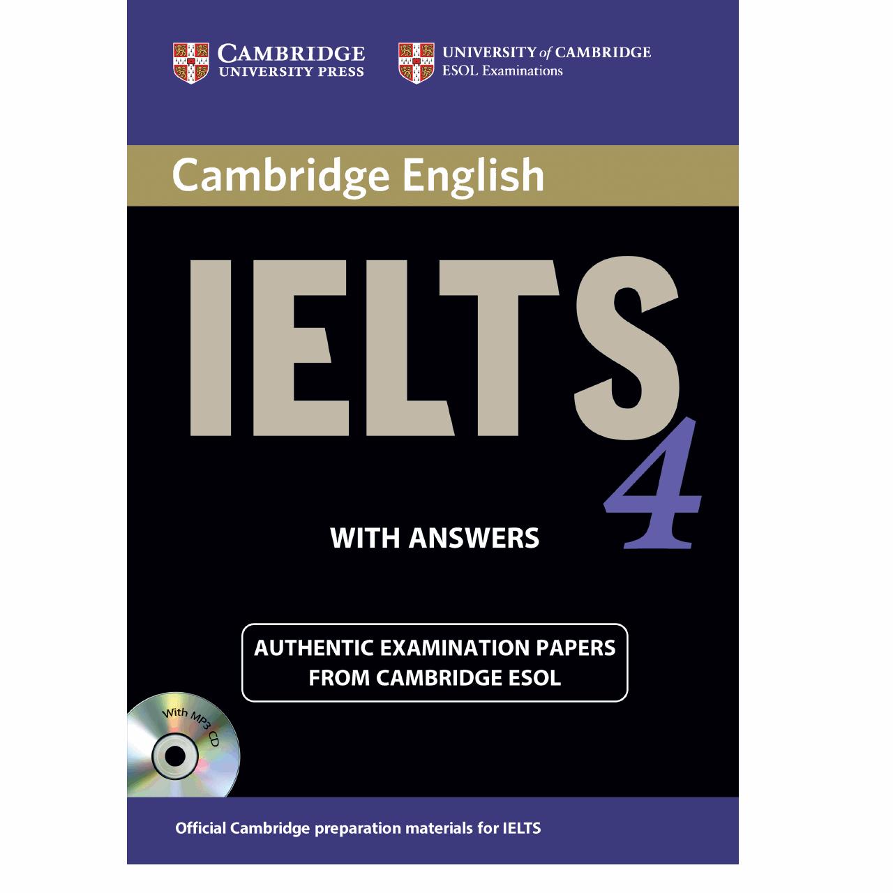 خرید                      کتاب زبان IELTS Cambridge 4 همراه با CD انتشارات کمبریج