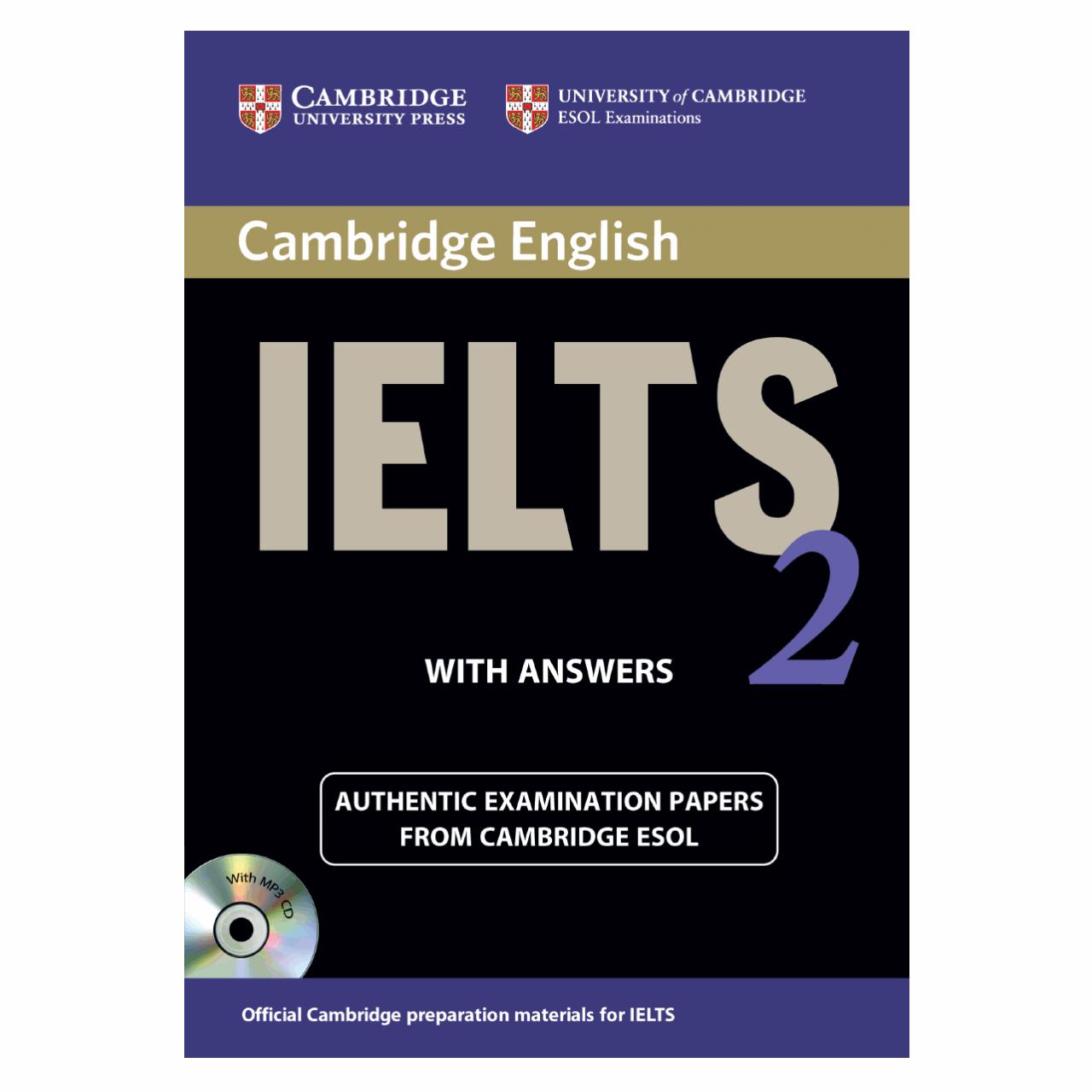 خرید                      کتاب زبان IELTS Cambridge 2 همراه با CD انتشارات کمبریج