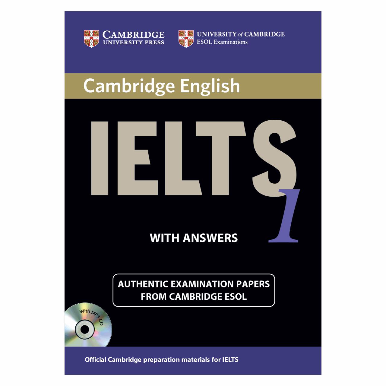 خرید                      کتاب زبان IELTS Cambridge 1 همراه با CD انتشارات کمبریج