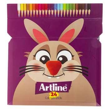 مداد رنگی 24 رنگ آرت لاین مدل ECP24PIL
