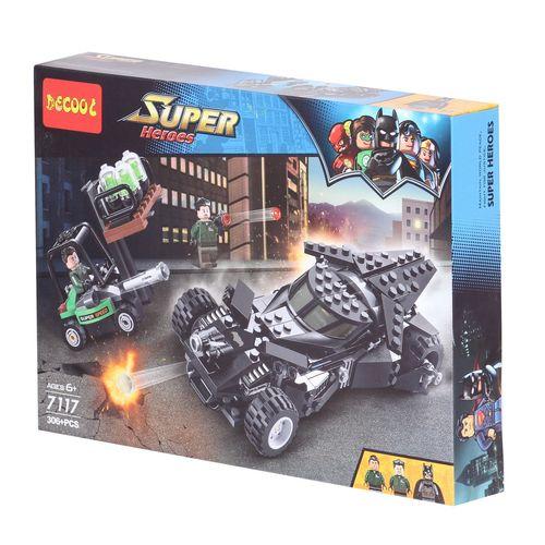 ساختنی دکول مدل Super heroes 7117