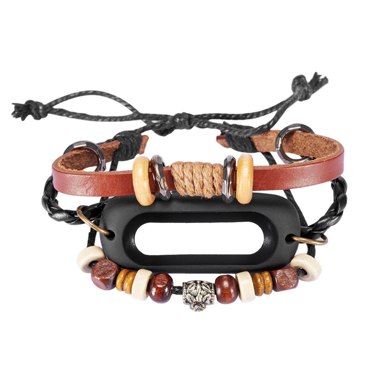 بند فانتزی شیائومی مدل Bead Bracket مناسب برای ساعت هوشمند شیائومی Mi Band 2