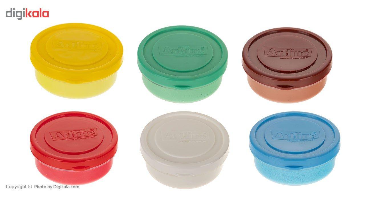 رنگ انگشتی 6 رنگ آرت لاین مدل 810 main 1 2