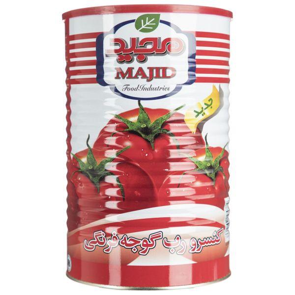 کنسرو رب گوجه فرنگی مجید مقدار 4300 گرم