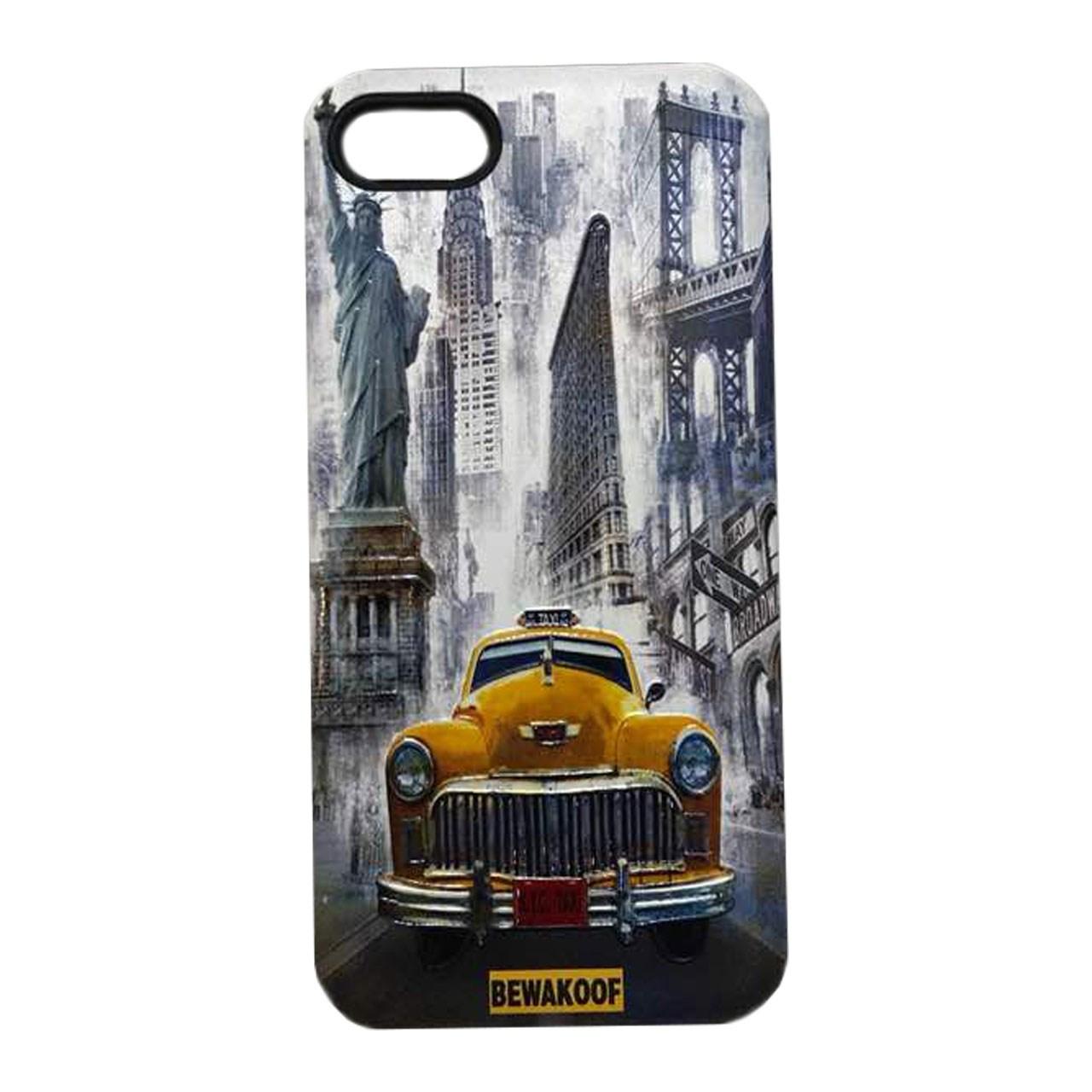 کاور بیواکوف مدل Yellow car مناسب برای گوشی موبایل اپلiPhone 7/ iPhone 8