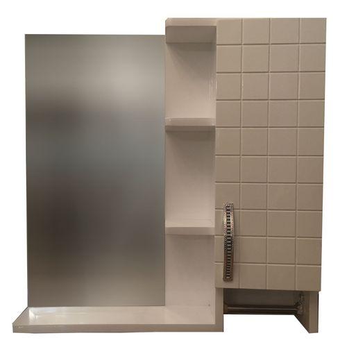 ست آینه و باکس سرویس بهداشتی pvc ضد آب مدل NKRD5