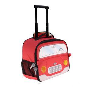 چمدان کودک سامسونایت طرح ماشین قرمز کد 21U 00 005