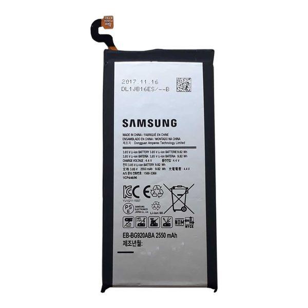 باتری موبایل اورجینال سامسونگ مدل Galaxy S6 Edge با ظرفیت 2600mAh مناسب برای گوشی موبایل سامسونگ Galaxy S6 Edge   Samsung Galaxy S6 Edge Original Mobile Phone Battery