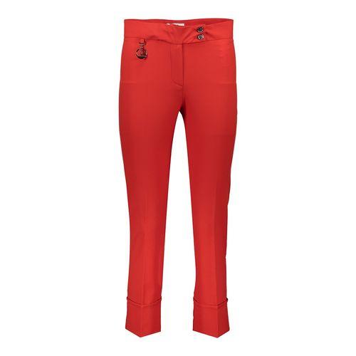 شلوار زنانه راسته  پاکتی رنگ قرمز کد 235