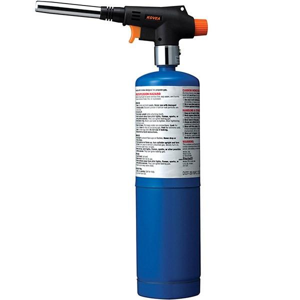 مشعل گازی کووآ مدل Cyclone کد KT-2906 به همراه کپسول گاز 400 گرمی Uniweld