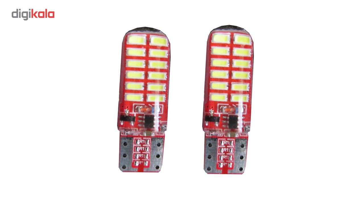 لامپ خودرو ال ای دی مدل فلش زن بسته 2 عددی
