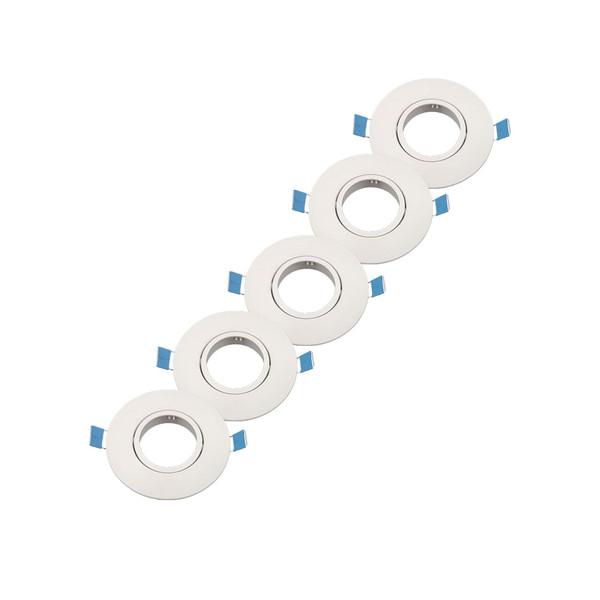 قاب هالوژن kmc مدل  پلاستیکی بسته 5   عددی