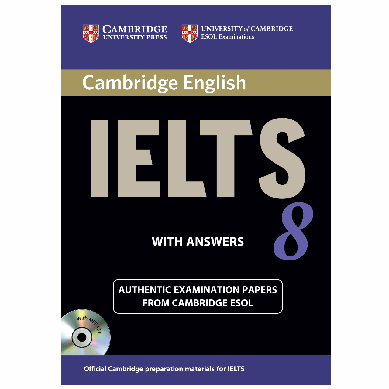 خرید                      کتاب زبان IELTS Cambridge 8 همراه با CD انتشارات کمبریج