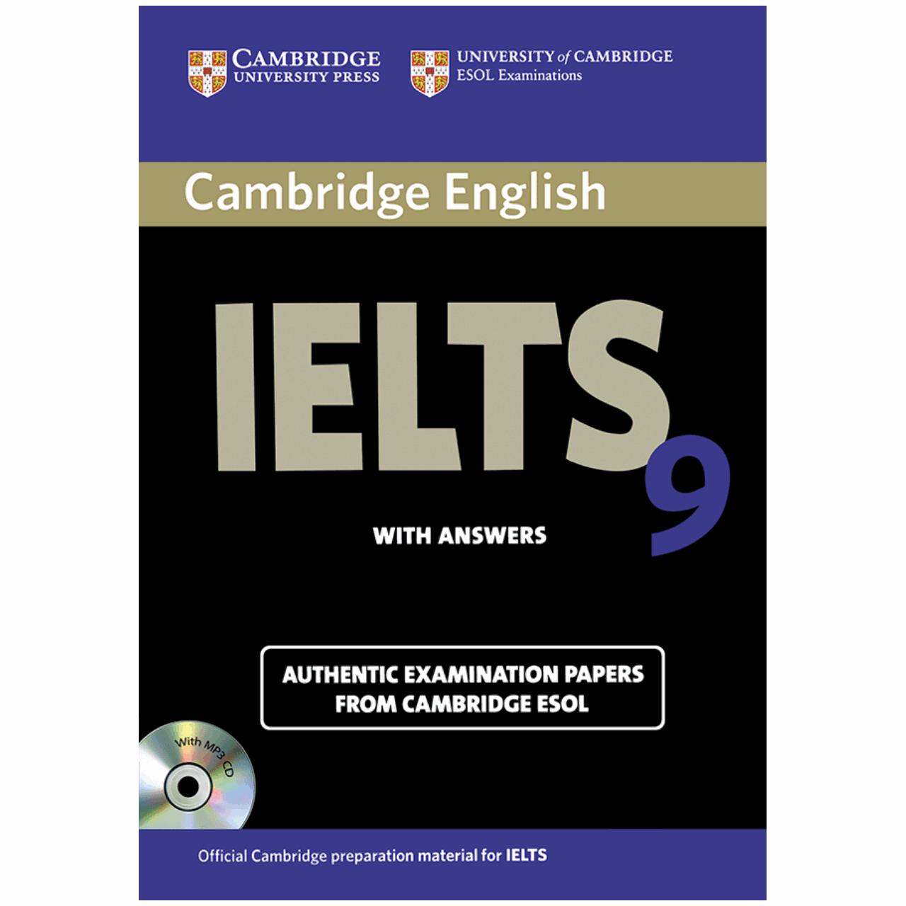 خرید                      کتاب زبان IELTS Cambridge 9 همراه با CD انتشارات کمبریج