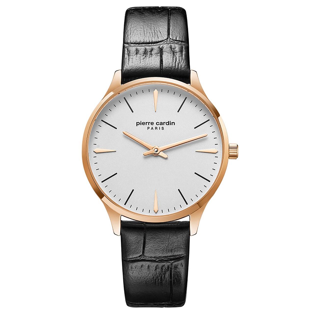 ساعت مچی عقربه ای زنانه پیر کاردین مدل PC902282F03
