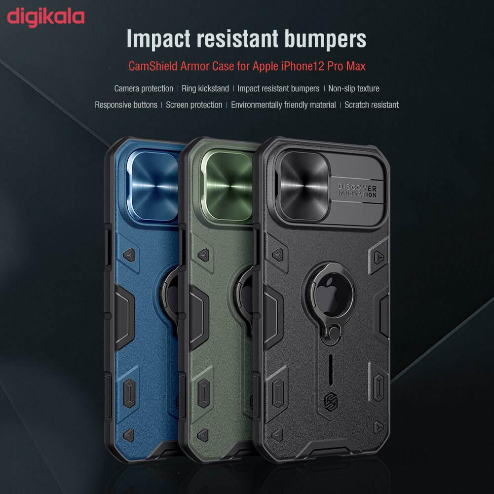 کاور نیلکین مدل CamShield Armor مناسب برای گوشی موبایل اپل iPhone 12 Pro Max main 1 16