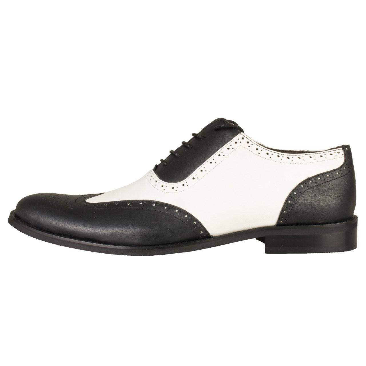 کفش چرمی مردانه رسا چرم کد 110