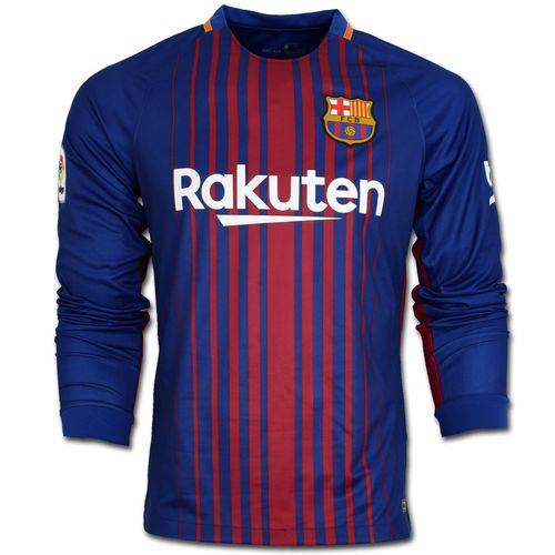 پیراهن تمرینی بارسلونا مدل Home-L2018
