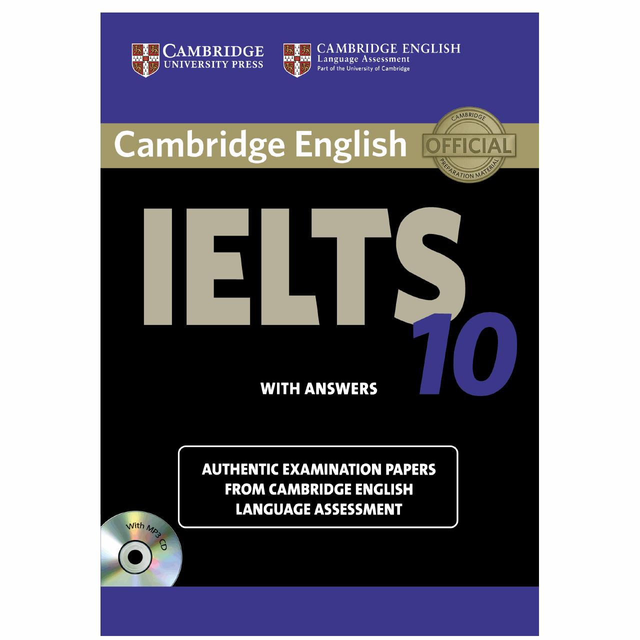 خرید                      کتاب زبان IELTS Cambridge 10 همراه با CD انتشارات کمبریج