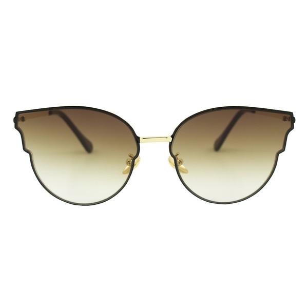 عینک آفتابی ویلی بولو مدل Pure Brown Mirror