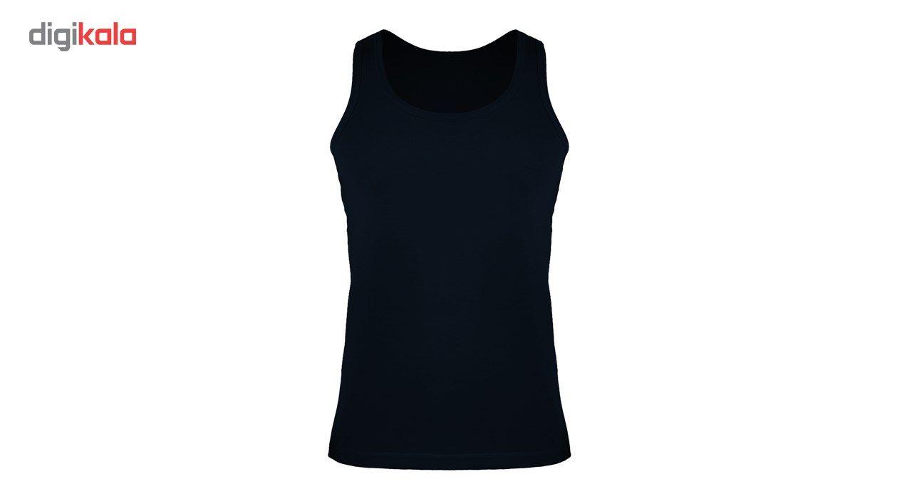زیرپوش رکابی مردانه کیان تن پوش سرمه ای مدل A Shirt Classic NB main 1 2