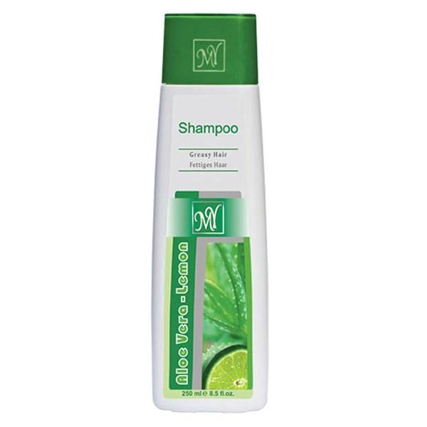 قیمت شامپو مای مدل Aloevera Lemon مناسب موهای چرب حجم 250 میلی لیتر