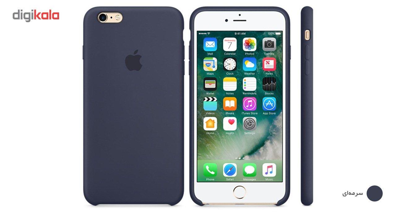 کاور سیلیکونی مناسب برای گوشی موبایل آیفون 6 پلاس/6s پلاس main 1 14