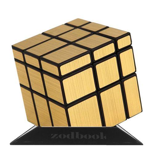 مکعب روبیک حجمی کای وای مدل mirror cube1543 همراه پایه روبیک زودبوک