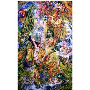پازل 1000 تکه ترنم طرح نقاشی فرشچیان