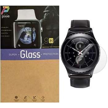 محافظ صفحه نمایش شیشه ای پیکسی  مدل 2.5D  مناسب برای ساعت هوشمند سامسونگ مدل Gear S2