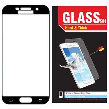 محافظ صفحه نمایش شیشه ای مدل Hard and thick  فول چسب مناسب برای گوشی موبایل سامسونگ A520/A5 2017