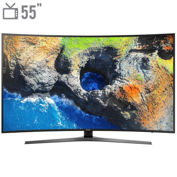 تلویزیون ال ای دی هوشمند خمیده سامسونگ مدل 55MU7995 سایز 55 اینچ