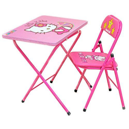 میز و صندلی تحریر تاشو کودک هانیبال مدل کیتی