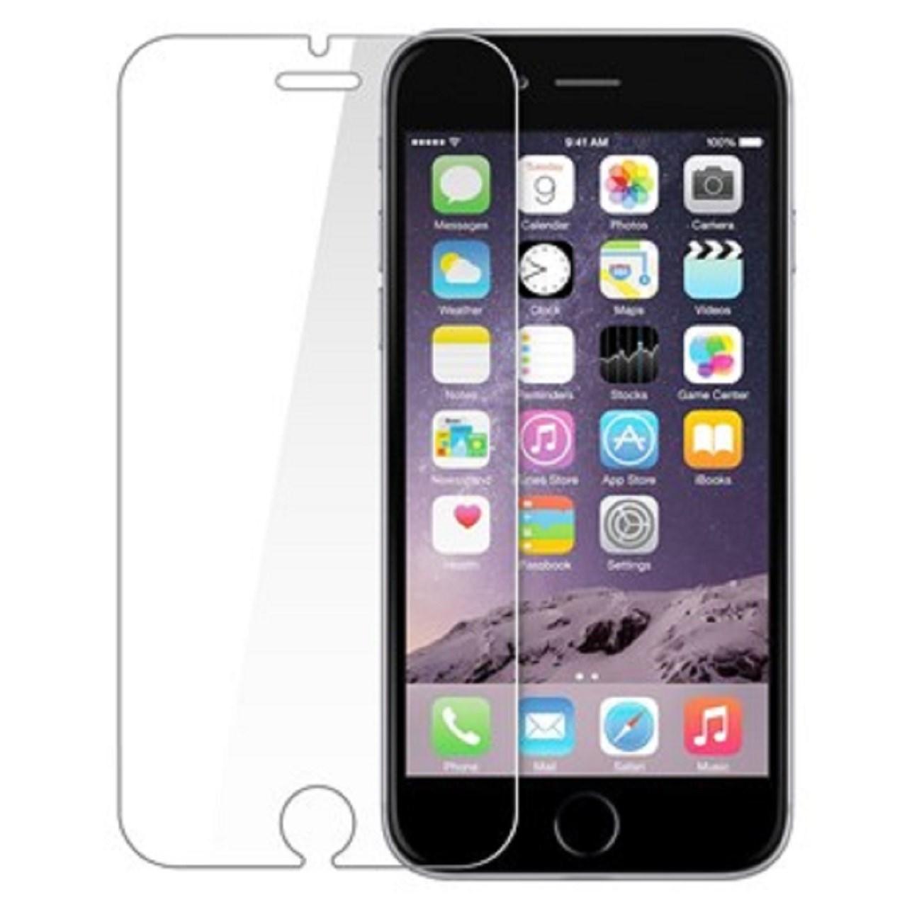محافظ صفحه نمایش شیشه ای 9H مناسب برای گوشی موبایل اپل آیفون 6/6s