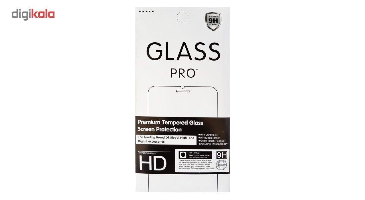 محافظ صفحه نمایش گلس پرو پلاس مدل Premium Tempered مناسب برای گوشی موبایل اپل iPhone 5/5S/SE main 1 1