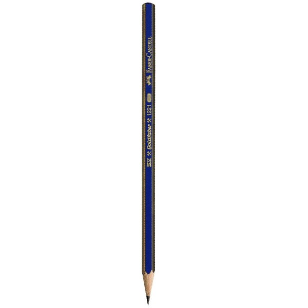 مداد طراحی فابر کاستل مدل گلدفابر با درجه سختی نوک 2B