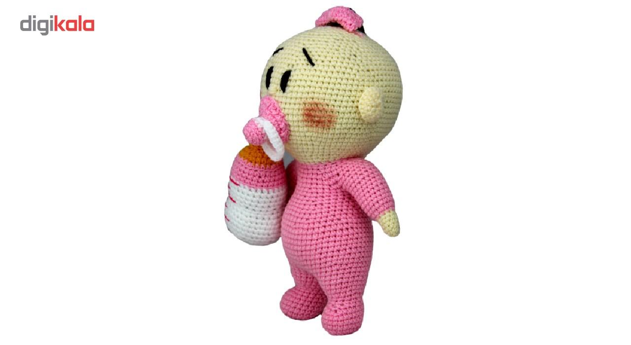 خرید                      عروسک بافتنی شیکدو مدل ty04