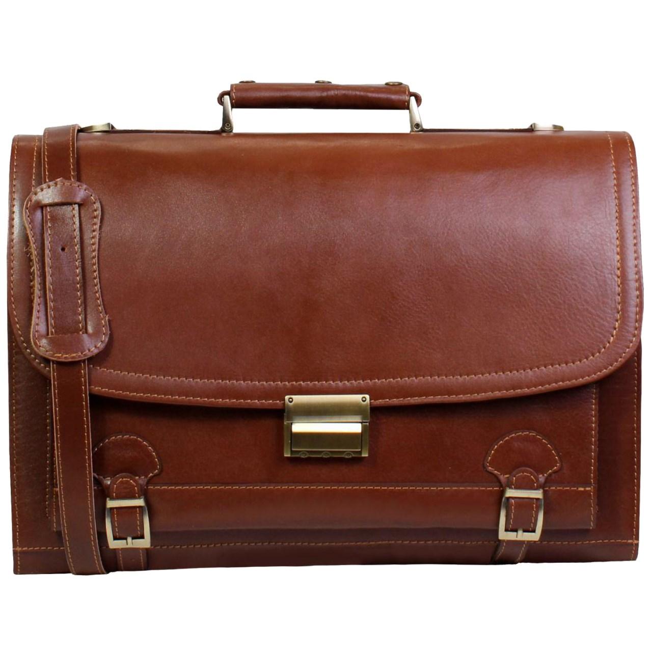 کیف اداری مردانه چرم ناب کد K113
