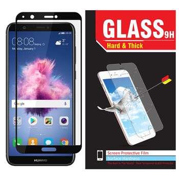 محافظ صفحه نمایش شیشه ای Hard and thick مدلfull glue مناسب برای گوشی موبایل هوآوی Psmart