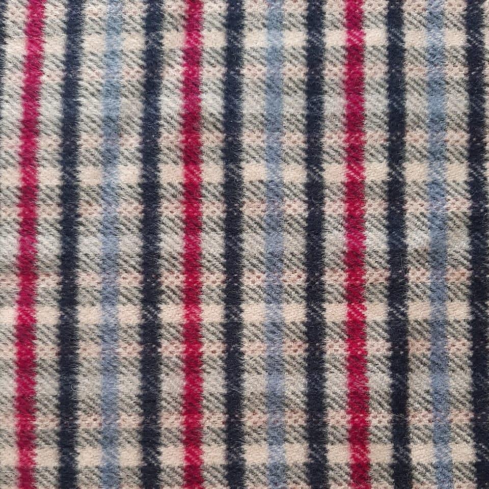 پارچه لباس مدل چهارخانه کد 02