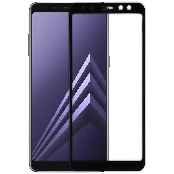 محافظ صفحه نمایش شیشه ای ریمکس مدل Full Cover مناسب برای گوشی موبایل سامسونگ Galaxy A8 2018