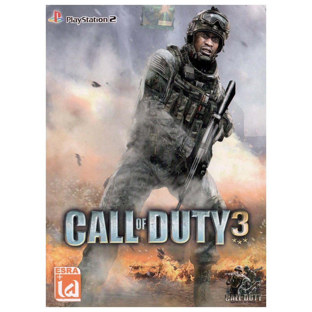 بازی Call of duty 3 مخصوص پلی استیشن ۲
