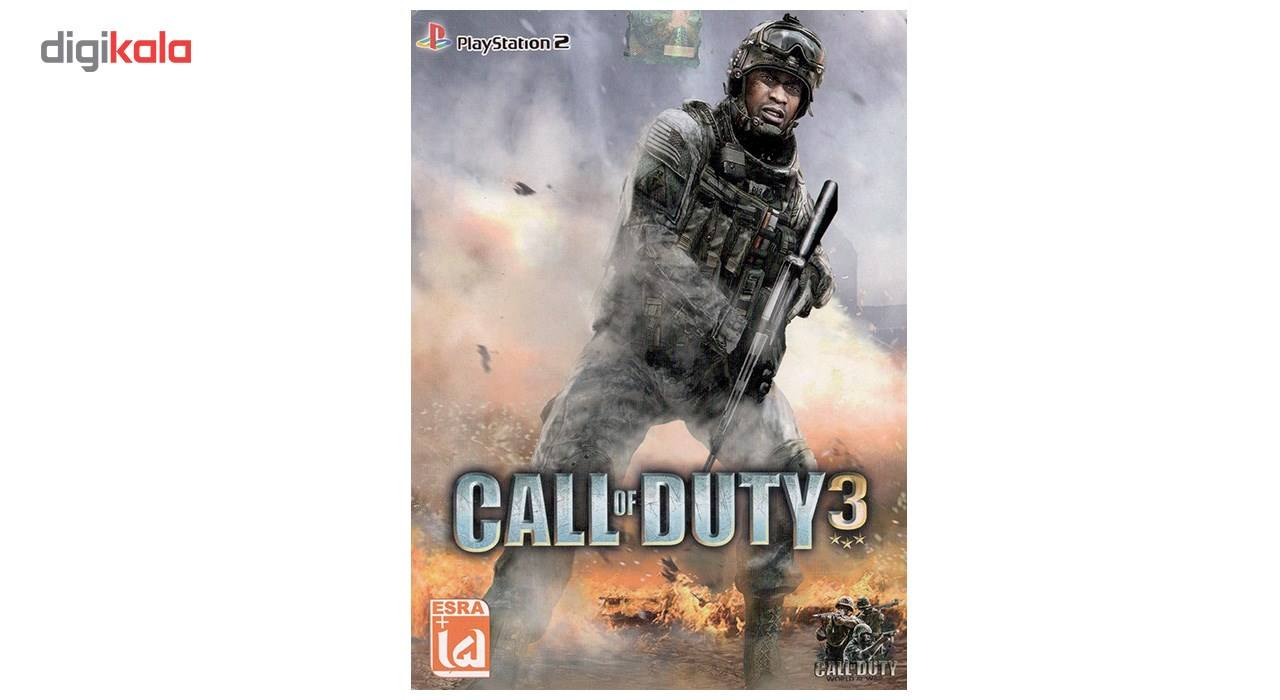 بازی Call of duty 3 مخصوص پلی استیشن 2 main 1 1