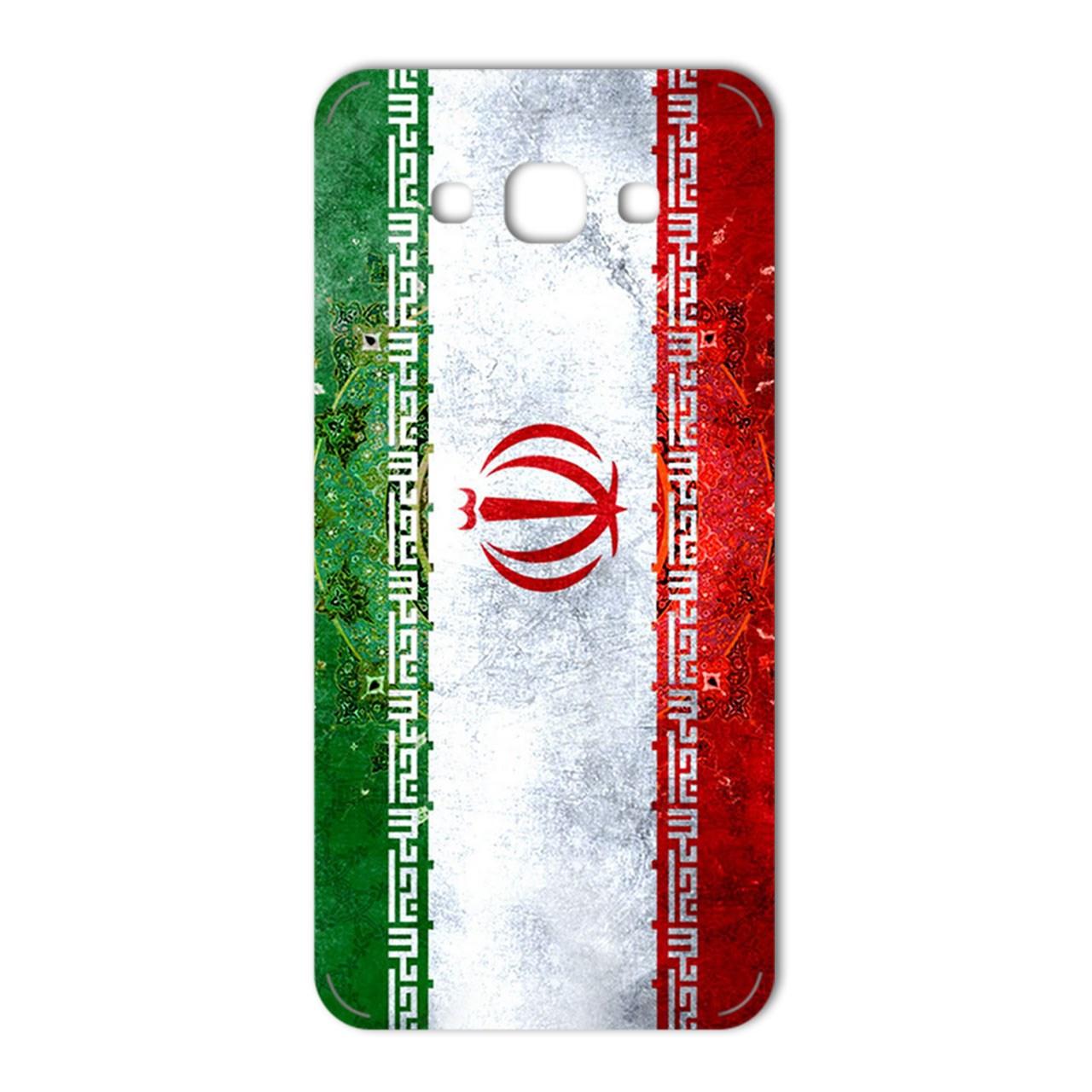 برچسب تزئینی ماهوت مدل IRAN-flag Design مناسب برای گوشی  Samsung  A8